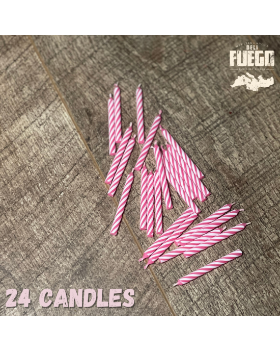 Spiral Birthday Candles